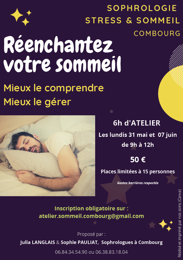 ATELIER SOPHROLOGIE STRESS & SOMMEIL – COMBOURG